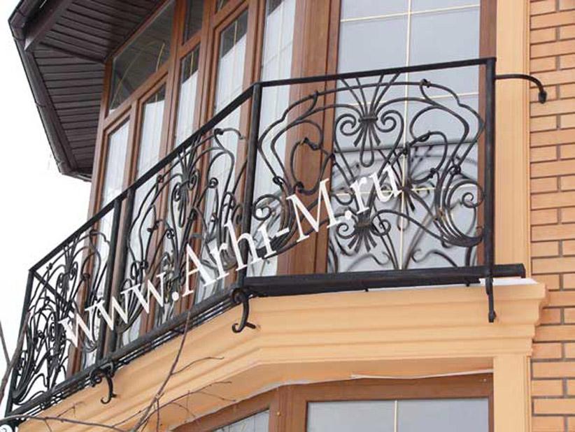 Ограждение французского балкона.