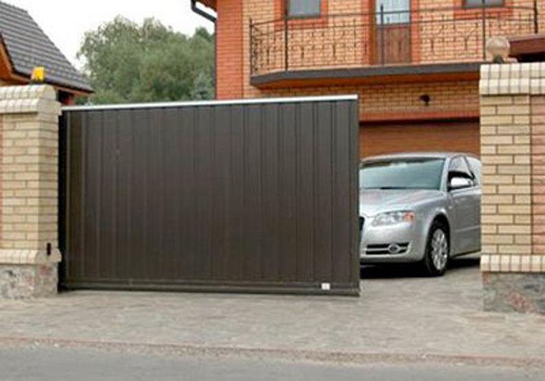 Монтаж ворот в бельцах вороты частных домов